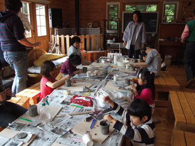 Pottery at Tsukuba International School
