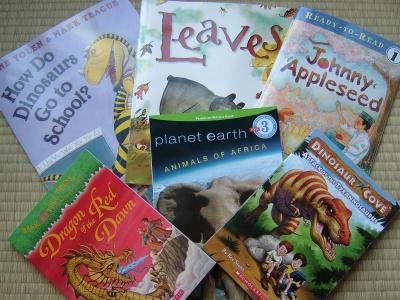 Scholastic Books Arrive
