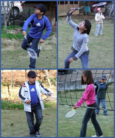 Badminton at Tsukuba International School