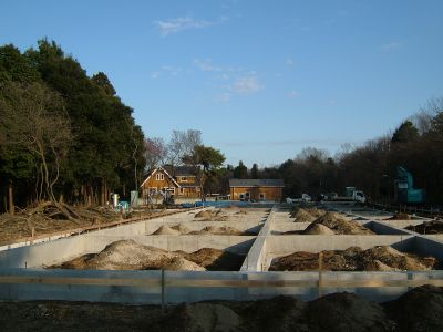 Tsukuba International School - New School Building Under Construction