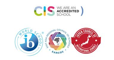 CIS, IB, EARCOS, JCIS Logos